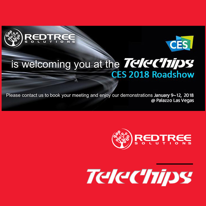 Come and join us at CES 2018