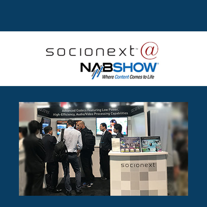 Join us for a meeting and demonstration during NAB 2018