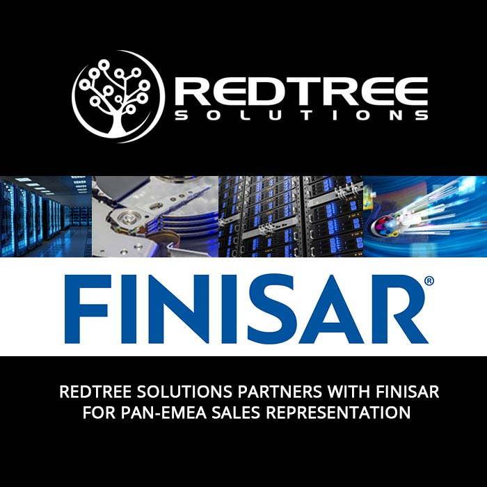 Redtree Solutions Partners with Finisar for Pan-EMEA Sales Representation