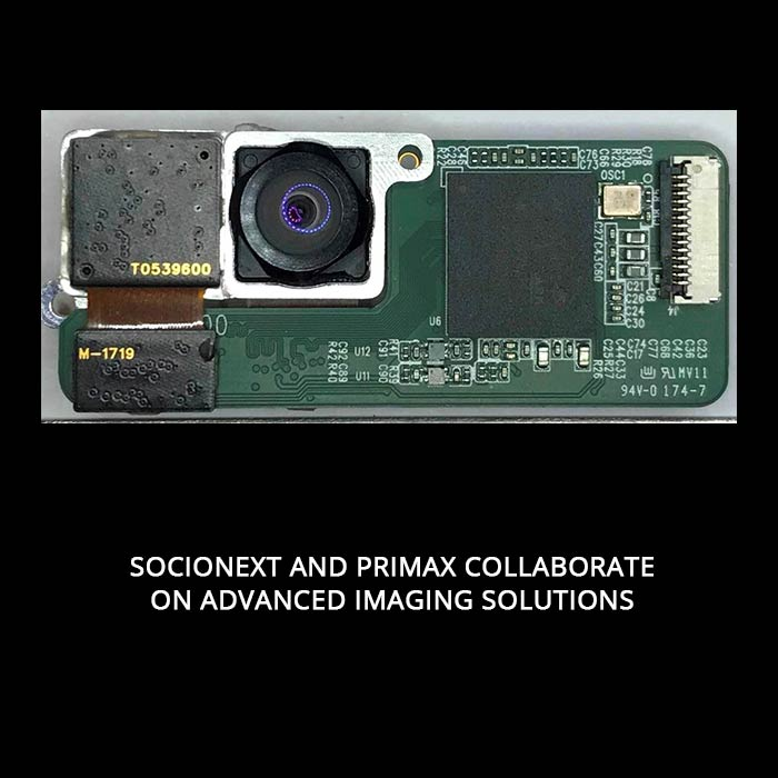 Socionext and Primax Collaborate on Advanced Imaging Solutions