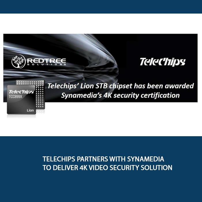 Telechips partners with Synamedia to deliver 4K video security solution