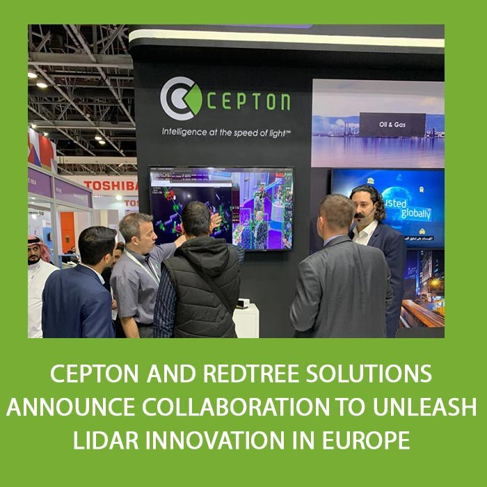 Cepton and Redtree Solutions Announce Collaboration to Unleash Lidar Innovation in Europe