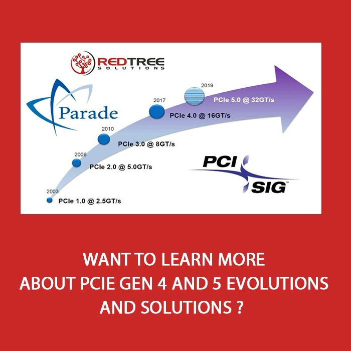 Want to learn more about PCIe Gen 4 and 5 evolutions and solutions ?
