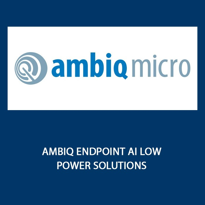 Ambiq Endpoint AI Low Power Solutions