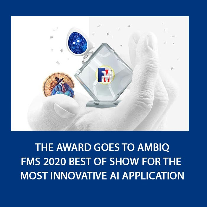 Ambiq Honored with Most Innovative AI Application for Best of Show Award at Flash Memory Summit 2020