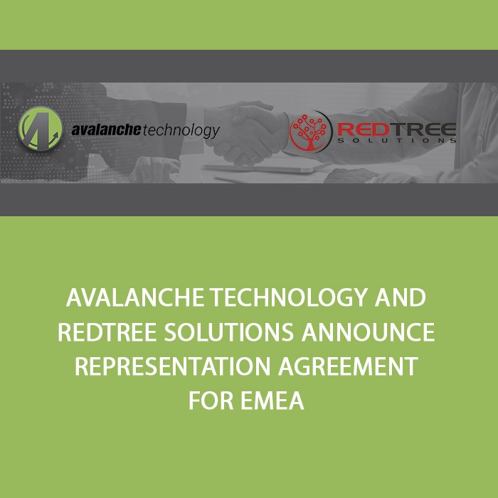 Avalanche Technology and Redtree Solutions Announce Representation Agreement for EMEA