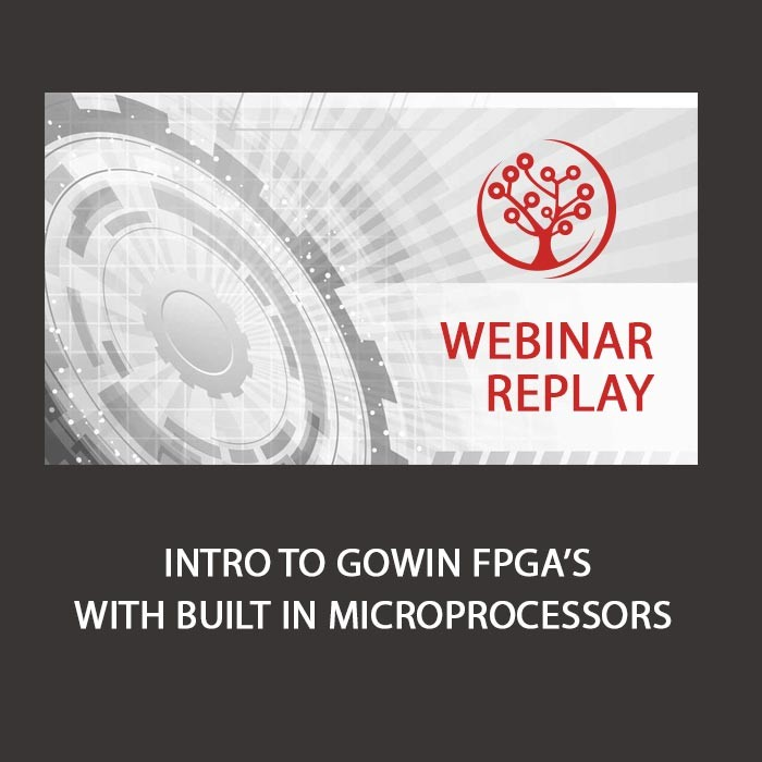 Webinar Replay - Intro to GoWin FPGA's with built in microprocessors