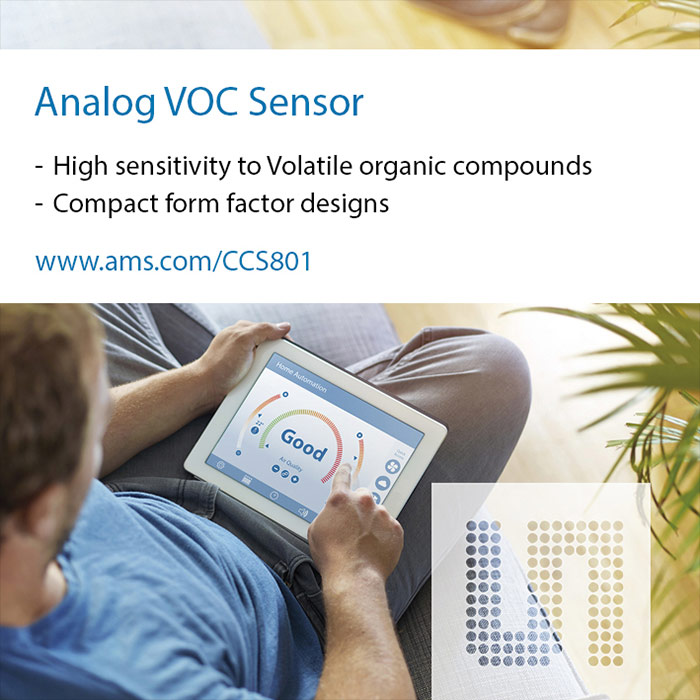 New environmental sensor kits from ams enable easy prototyping of indoor air quality monitoring systems
